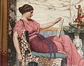 John William Godward An Amateur 1915.jpg