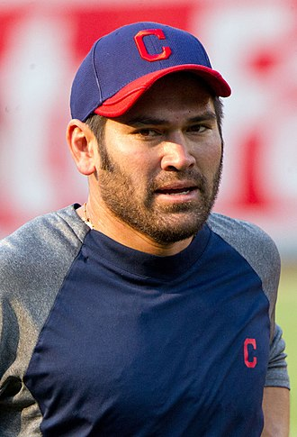 Johnny Damon - Damon with the Indians in 2012