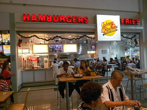 Johnny Rockets - Plaza Las Américas