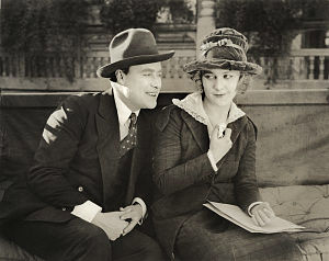 Louise Lovely - With Hale Hamilton in Johnny on the Spot (1919).