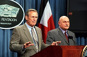 David Tevzadze - Joint press conference of Donald Rumsfeld and David Tevzadze