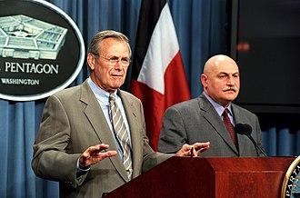 David Tevzadze - Joint press conference of Donald Rumsfeld and David Tevzadze