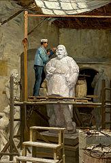 The Atelier of the Sculptor Simões de Almeida