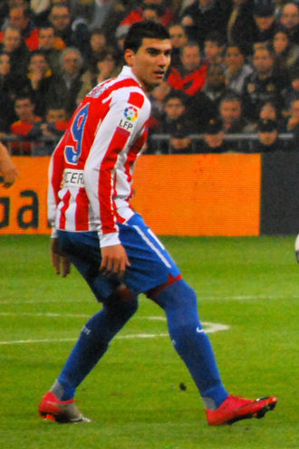 José Antonio Reyes - Reyes playing for Atlético Madrid in 2011