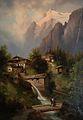 JosefThoma-Chalets in an Alpine Landscape.jpg