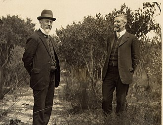 Joseph Cook - Cook and Alfred Deakin together in 1909