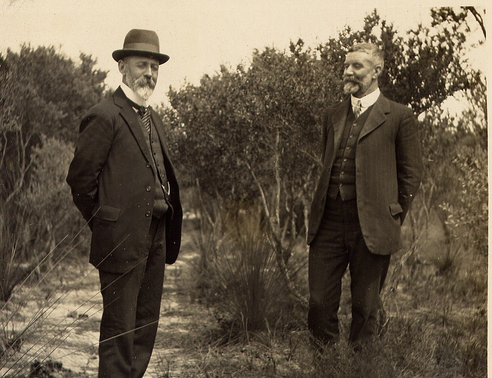 Joseph Cook and Alfred Deakin