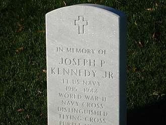 Joseph P. Kennedy Jr. - Grave of Joseph P. Kennedy Jr. at Arlington National Cemetery.