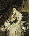 Joshua Reynolds - Lady Burlington y su hijo.jpg