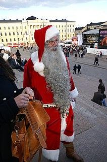 Joulupukki Christmas figure from Finland