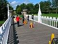 Jousting on the Eglinton Tournament Bridge.JPG