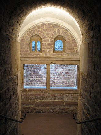 History of the Jews in Speyer - First room in the medieval mikveh in Speyer.