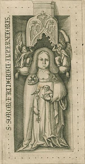 Judith of Hohenstaufen - Grave stone of Judith of Hohenstaufen