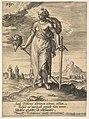 Judith, from Willem van Haecht, Tyrannorum proemia, 1578 MET DP828367.jpg