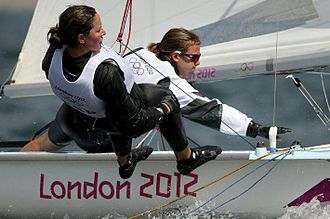 Spain at the 2012 Summer Olympics - Sailors Berta Betanzos and Tara Pacheco in women's 470 class