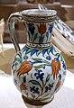 Jug with tulip decoration, Turkey, Iznik, Ottoman, 16th century AD, ceramic with underglaze painting - Princeton University Art Museum - DSC06857.jpg