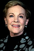 Photo of Julie Andrews in Sydney, Australia in 2013.