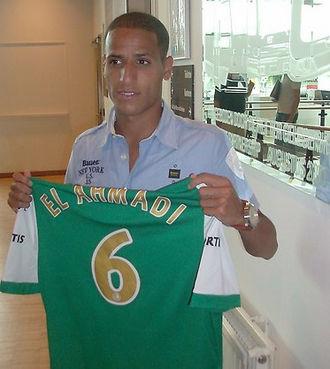 Karim El Ahmadi - El Ahmadi with Feyenoord