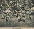 KITLV - 94273 - Demmeni, J. - Minangkabau men engaged with pencak silat (martial art) on Sumatra's west coast - circa 1915.tif