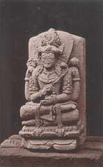 KITLV 87679 - Isidore van Kinsbergen - Hindu-Javanese sculpture coming from the Dijeng plateau - Before 1900.tif
