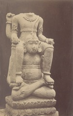 KITLV 87687 - Isidore van Kinsbergen - Hindu-Javanese sculpture coming from the Dijeng plateau - Before 1900.tif