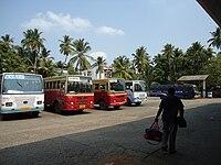 KSRTC Bus station guruvayur