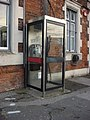 KX100 telephone box, Hampton Court station - geograph.org.uk - 1171467.jpg