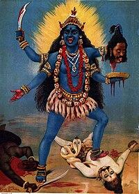 Kali de Raĝo Ravi Varma.jpg
