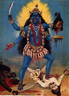 Kali Hindu goddess associated with empowerment