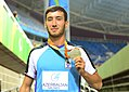 Kamil Aliyev at the 2016 Summer Paralympics – Men's long jump (T12) 20.jpg