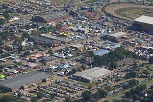 Kansas State Fair - Aerial view of Kansas State Fair, 2014
