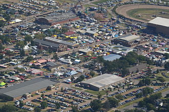 Kansas State Fair - 2014 aerial view