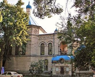 Sectorul Centru - St. Teodora de la Sihla Church