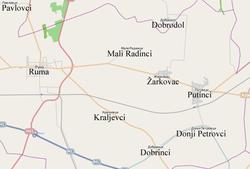 karta srema Donji Petrovci   Wikipedia karta srema