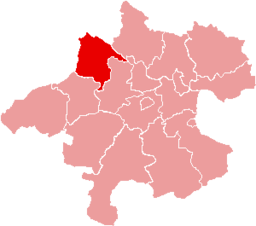 Bezirk Schärding location map