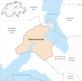 Map of Küssnacht