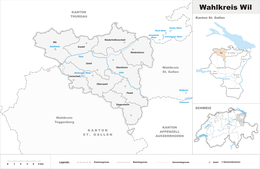 Wil – Mappa