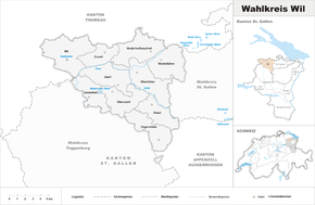 Map of constituency Wil