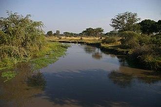 Katavi National Park - Image: Katuma River