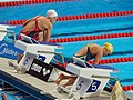 Kazan 2015 - Jessica Hardy and Jennie Johansson 50m breast heats.jpg