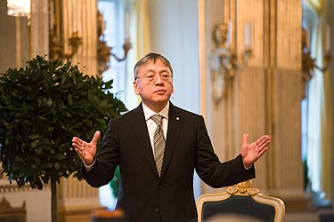Sir Kazuo Ishiguro (MA, 1980) was awarded the 2017 Nobel Prize in Literature Kazuo Ishiguro in 2017 06.jpg