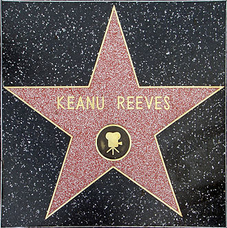 Keanu Reeves - Reeves' star on the Hollywood Walk of Fame