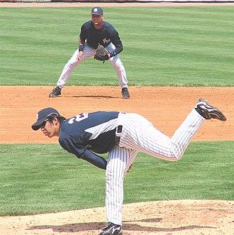 Nippon Professional Baseball Most Valuable Player Award - Kei Igawa, 2003 CL winner