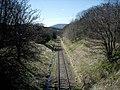Keith and Dufftown Railway at Parkmore,near Dufftown. - geograph.org.uk - 162288.jpg