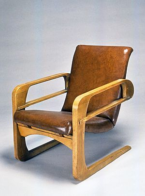 "Kem Weber -  Armchair (""Airline Chair""), 1934-1935 Brooklyn Museum"