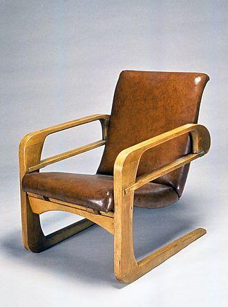"Kem Weber - Armchair (""Airline Chair""), 1934-1935 Brooklyn Museum"