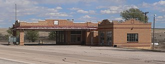National Register of Historic Places listings in Roosevelt County, New Mexico - Image: Kenna Store from W 3