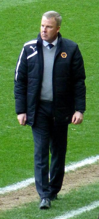 Kenny Jackett - Jackett as head coach of Wolverhampton Wanderers 2014