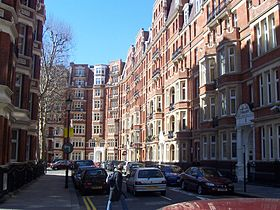 Immeubles à Kensington.