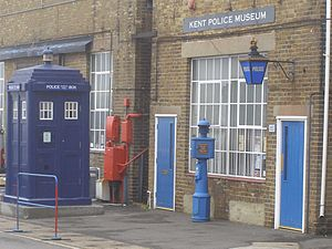 Kent Police Museum - Kent Police Museum in 2008, at Chatham